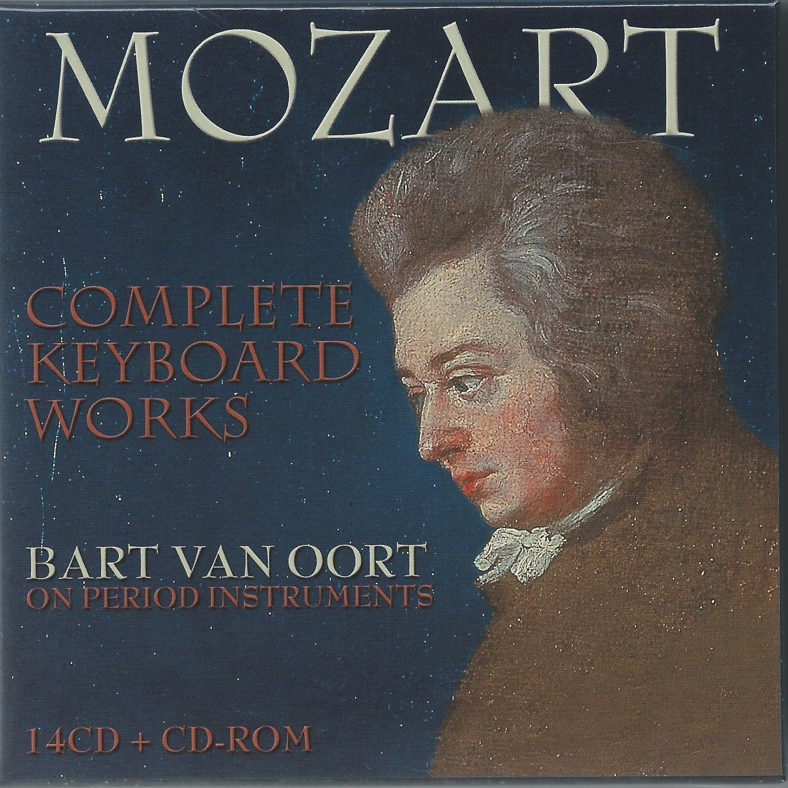 WA Mozart: Complete Works for Piano Solo and Piano Four Hands (14 CDs)